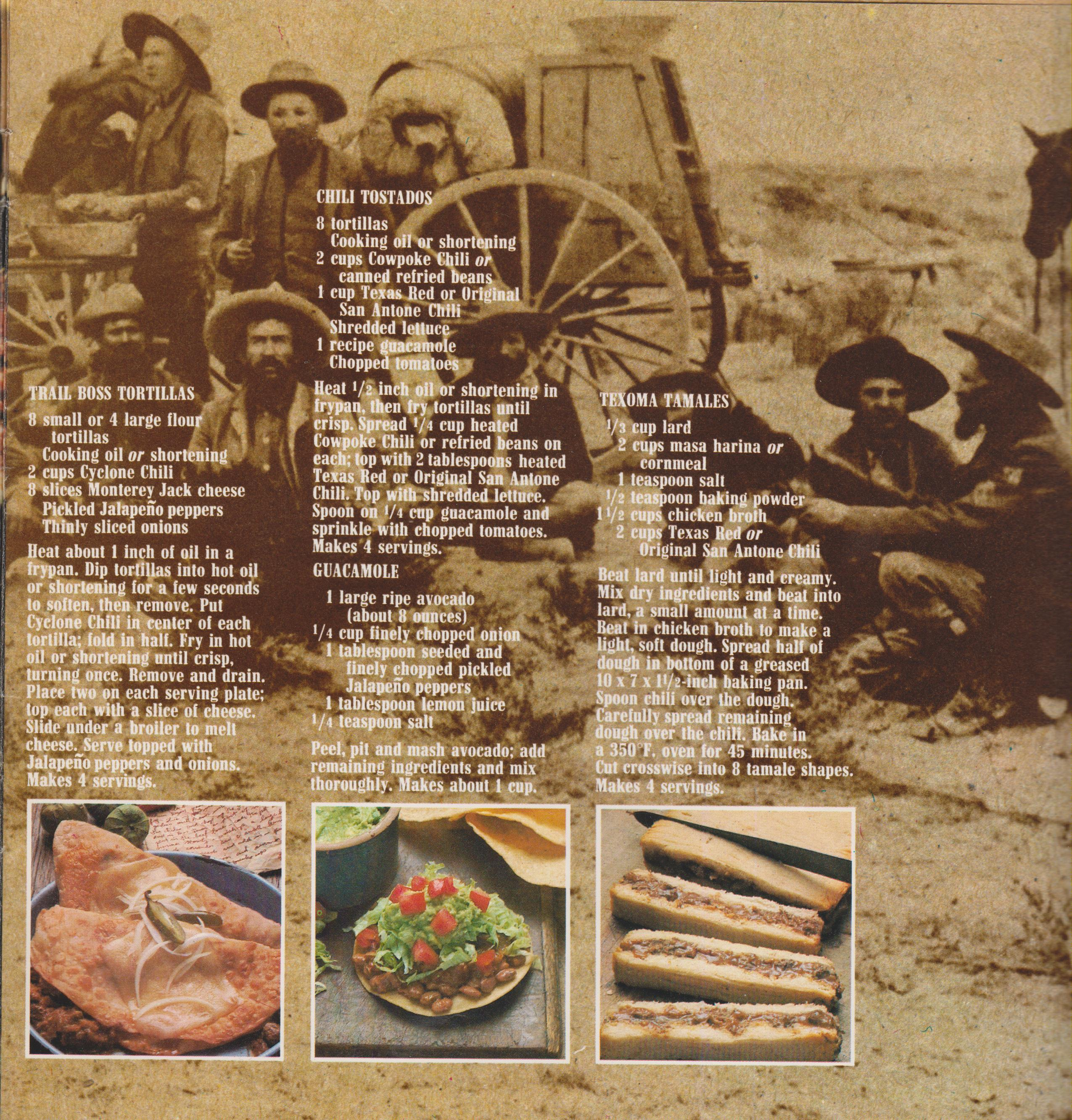 Famous Chili Recipes From Marlboro Country Claudemathews